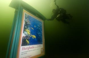 KING разместило рекламу турфирмы Ving под водой