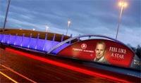 Наружная реклама - JCDecaux Airport's будет размещать рекламу авиакомпании Turkish Airlines в аэропортах Великобритании