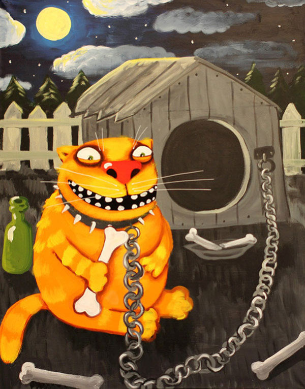 Картины Копейкина и Ложкина появятся на рекламных щитах Петербурга